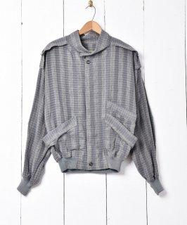 古着イタリア製 ストライプジャケット 古着のネット通販 古着屋グレープフルーツムーン