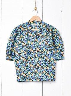 古着花柄 オープンカラー ショートスリーブシャツ 古着のネット通販 古着屋グレープフルーツムーン