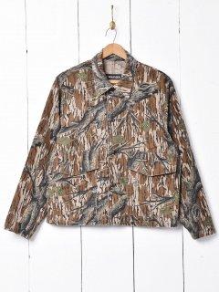 古着ツリーパターン ハンティングジャケット 古着のネット通販 古着屋グレープフルーツムーン