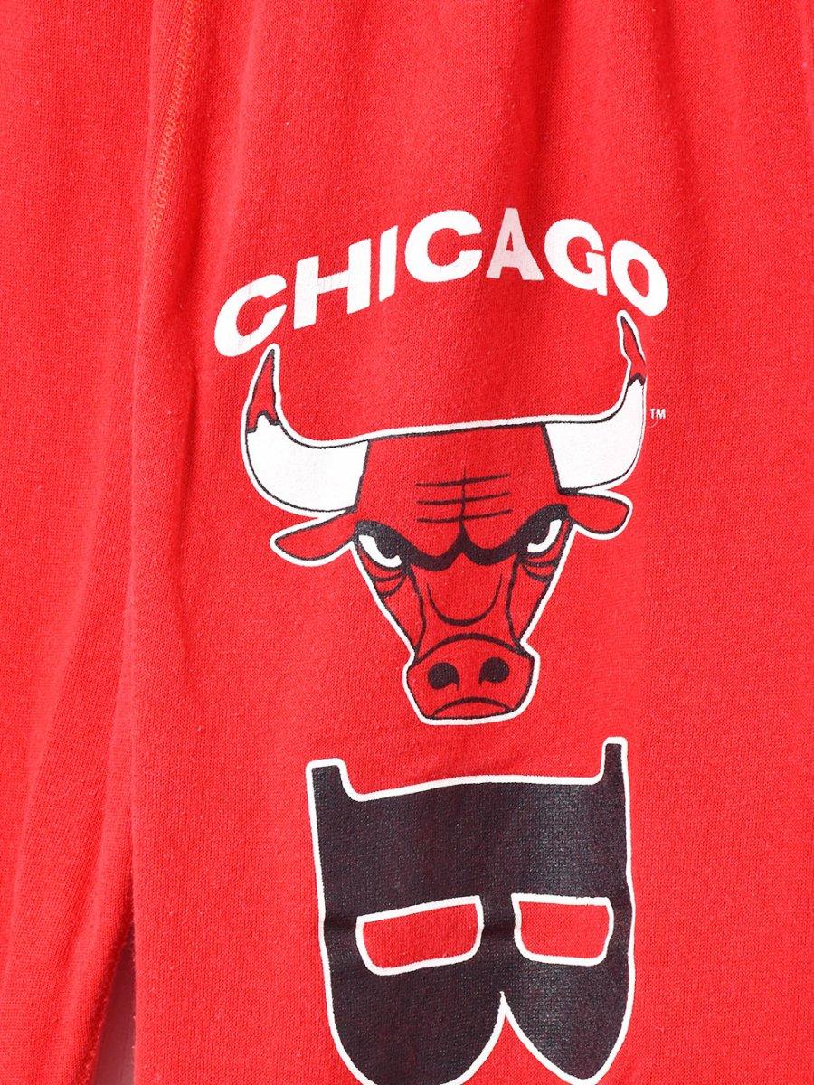 アメリカ製 「CHICAGO BULLS」ロゴスウェットパンツ レッドサムネイル