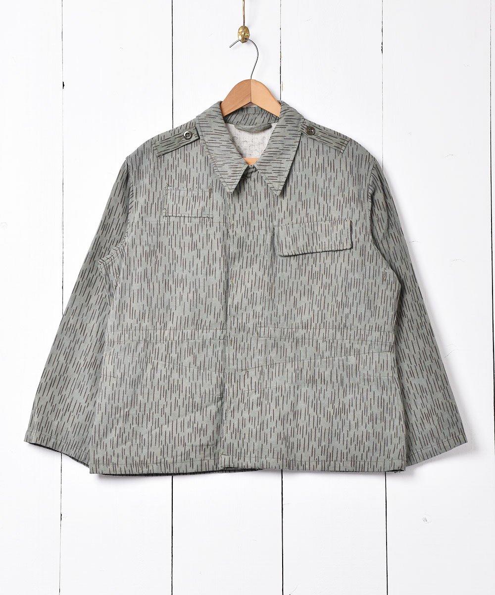 古着 チェコ軍 レインドロップカモ フィールドジャケット 古着 ネット 通販 古着屋グレープフルーツムーン