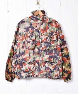 古着スイス軍 M1960 マウンテンジャケット アルペンカモフラージュ 古着のネット通販 古着屋グレープフルーツムーン