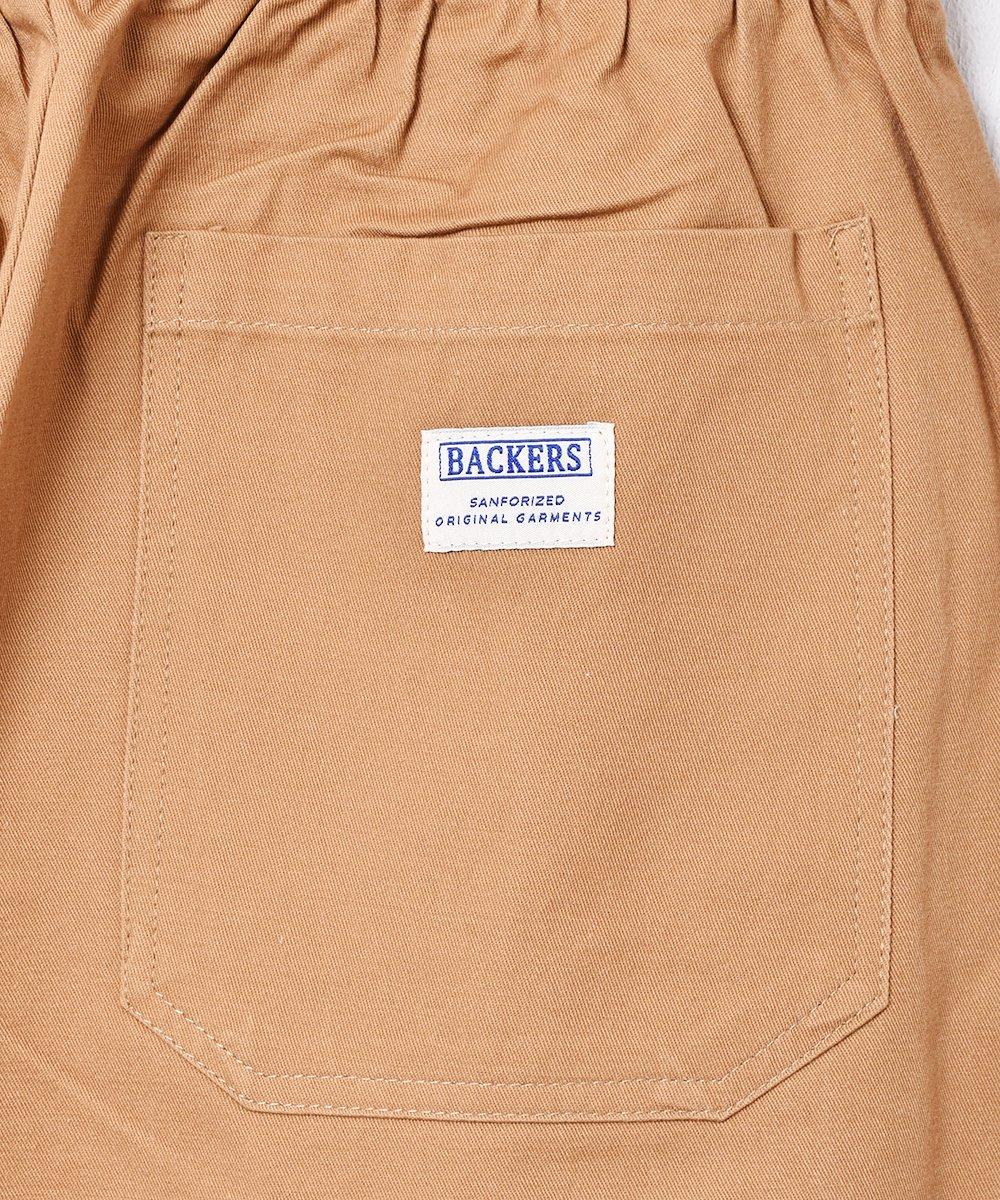 【6色展開】「Backers」コットンイージーパンツ ベージュサムネイル