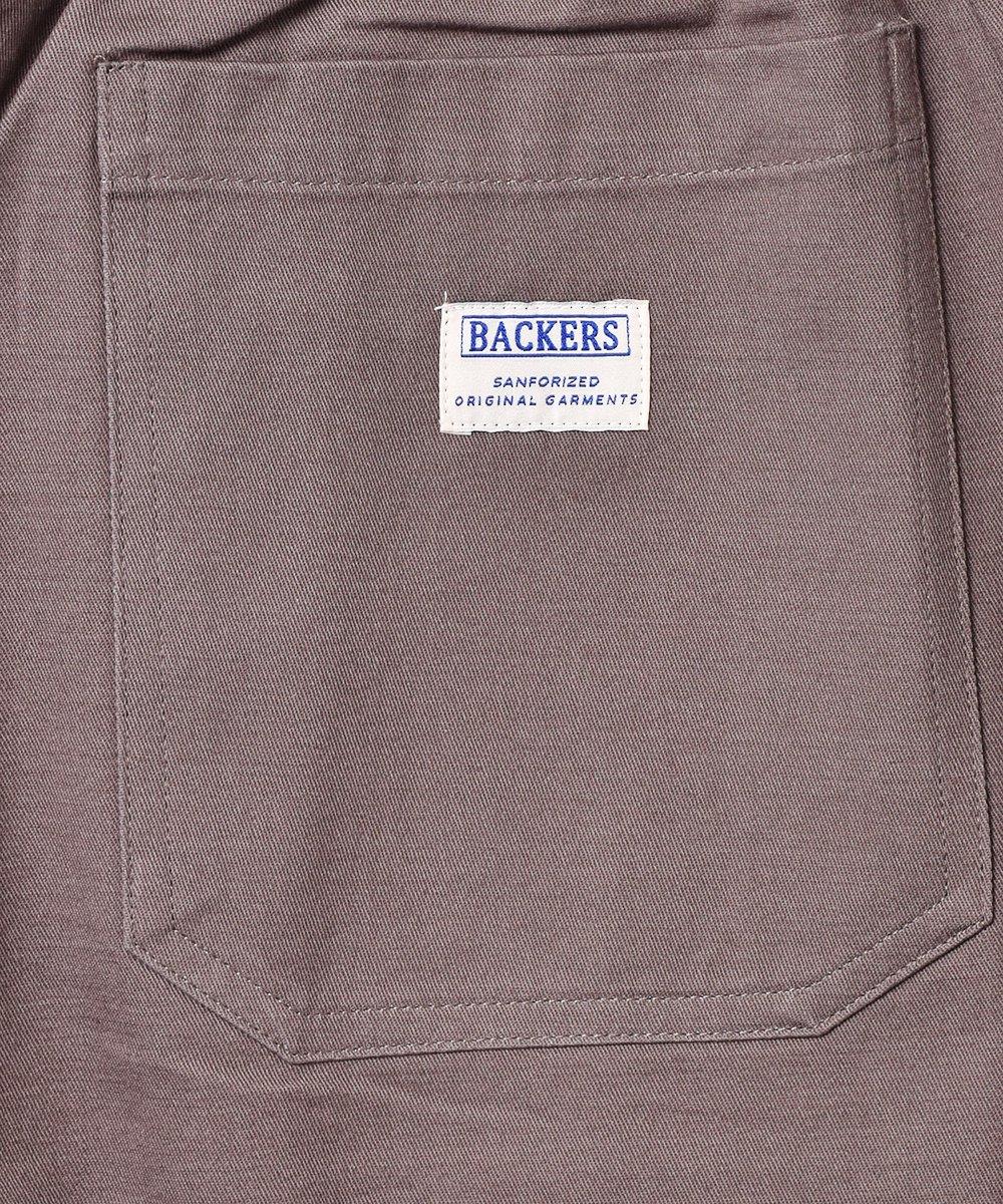 【6色展開】「Backers」コットンイージーパンツ グレーサムネイル