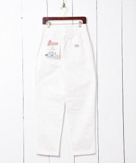 古着【6色展開】「Backers」コットンイージーパンツ ホワイト 古着のネット通販 古着屋グレープフルーツムーン