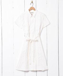 古着【3色展開】「Emerald Motel」ヴィンテージライク キューバドレス ホワイト 古着のネット通販 古着屋グレープフルーツムーン