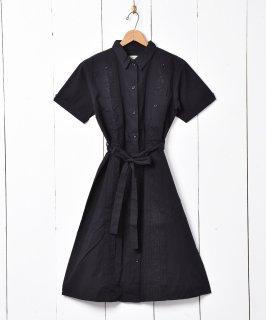 古着【3色展開】「Emerald Motel」ヴィンテージライク キューバドレス ブラック 古着のネット通販 古着屋グレープフルーツムーン