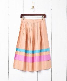 古着3トーンスカート 古着のネット通販 古着屋グレープフルーツムーン