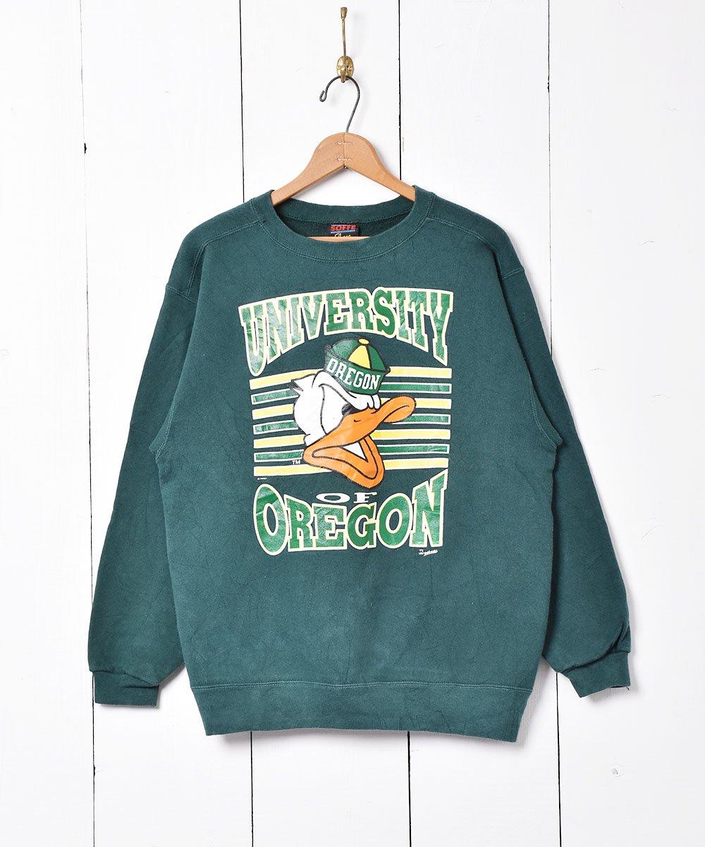 古着 オレゴン大学 オレゴンダックススウェット 古着 ネット 通販 古着屋グレープフルーツムーン