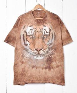 古着「THE MOUNTAIN」タイガープリントTシャツ 古着のネット通販 古着屋グレープフルーツムーン