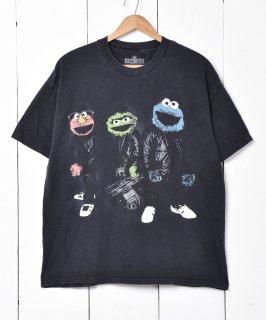 古着SESAME STREET プリントTシャツ 古着のネット通販 古着屋グレープフルーツムーン