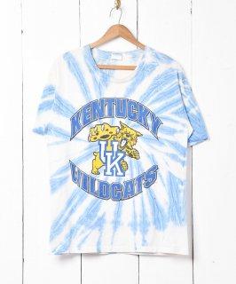 古着「WILD CATS」プリントタイダイTシャツ 古着のネット通販 古着屋グレープフルーツムーン