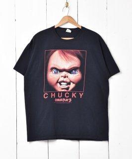 古着チャッキー プリントTシャツ 古着のネット通販 古着屋グレープフルーツムーン