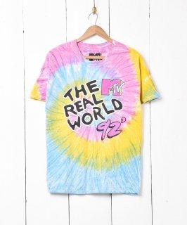 古着「MTV」タイダイプリントTシャツ  古着のネット通販 古着屋グレープフルーツムーン