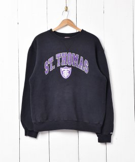 古着St.THOMAS カレッジプリントスウェット 古着のネット通販 古着屋グレープフルーツムーン