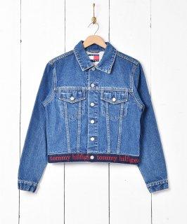 古着「Tommy Jeans」デニムジャケット 古着のネット通販 古着屋グレープフルーツムーン