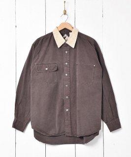 古着コーディロイカラ— シャツ 古着のネット通販 古着屋グレープフルーツムーン