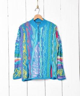 古着90's オーストラリア製 「COOGI」ハーフジップセーター 古着のネット通販 古着屋グレープフルーツムーン