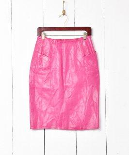 古着アメリカ製 レザー タイトスカート 古着のネット通販 古着屋グレープフルーツムーン