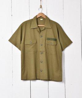 古着「Backers」ミリタリー 半袖シャツ 古着のネット通販 古着屋グレープフルーツムーン