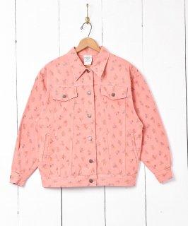 古着「Laura Ashley」フラワーパターン コットンジャケット 古着のネット通販 古着屋グレープフルーツムーン