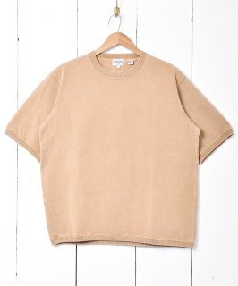 古着【4色展開】「TEMPTATION」スウェットTシャツ ベージュ 古着のネット通販 古着屋グレープフルーツムーン