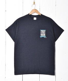 古着【2色展開】「Backers」スケボープリントTシャツ ブラック 古着のネット通販 古着屋グレープフルーツムーン