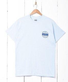 古着【2色展開】レコードプリントTシャツ ブルー 古着のネット通販 古着屋グレープフルーツムーン