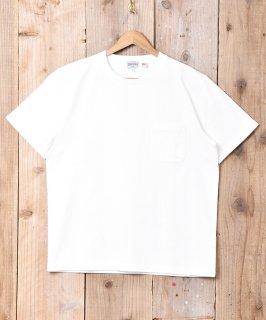 古着【4色展開】「TEMPTATION」ポケットTシャツ ホワイト 古着のネット通販 古着屋グレープフルーツムーン