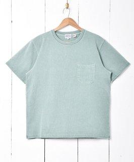 古着【4色展開】「TEMPTATION」ポケットTシャツ グリーン 古着のネット通販 古着屋グレープフルーツムーン