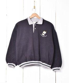 古着イタリア製 スヌーピー 刺繍スウェット 古着のネット通販 古着屋グレープフルーツムーン