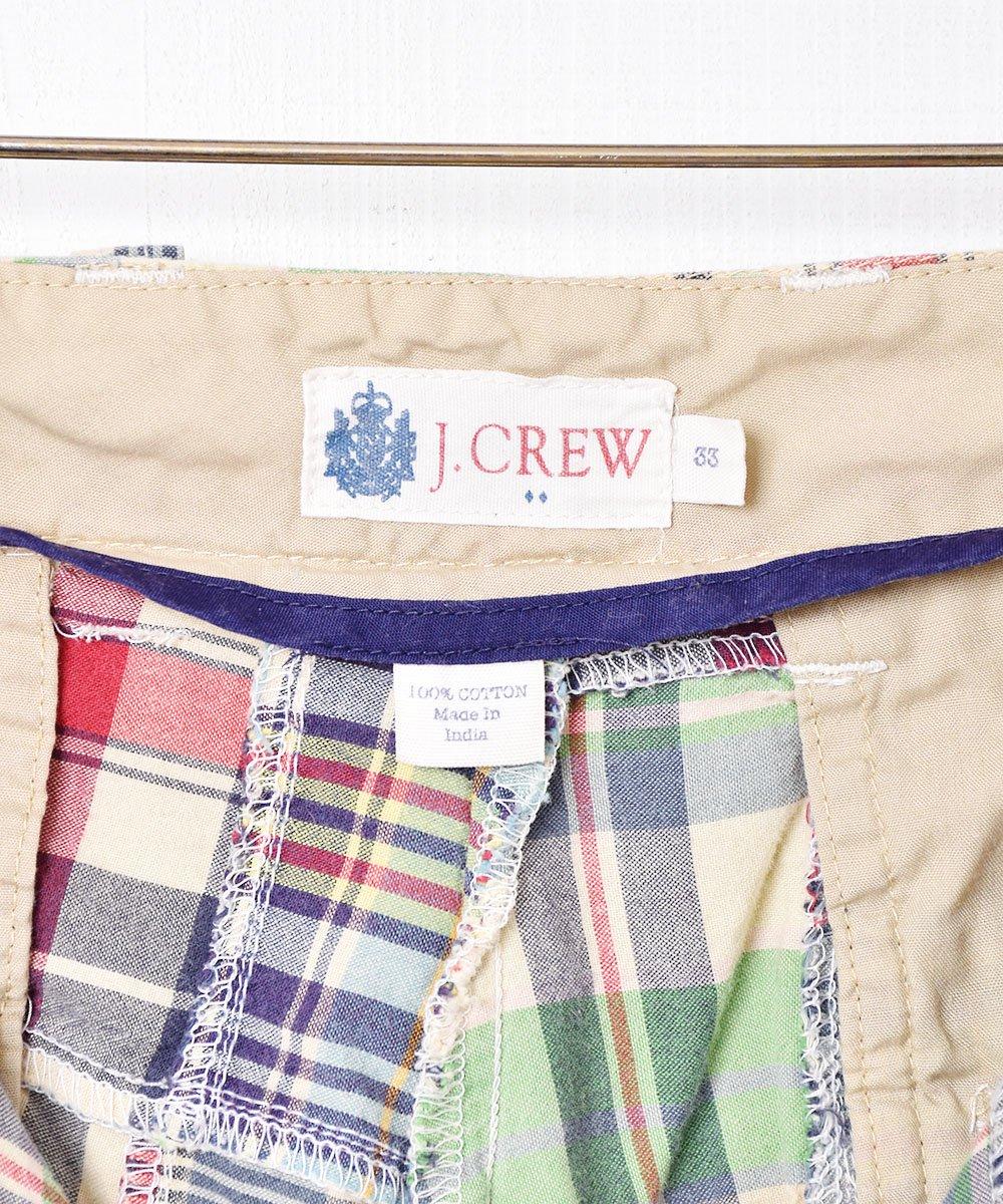 「J .CREW」 パッチワークショートパンツサムネイル