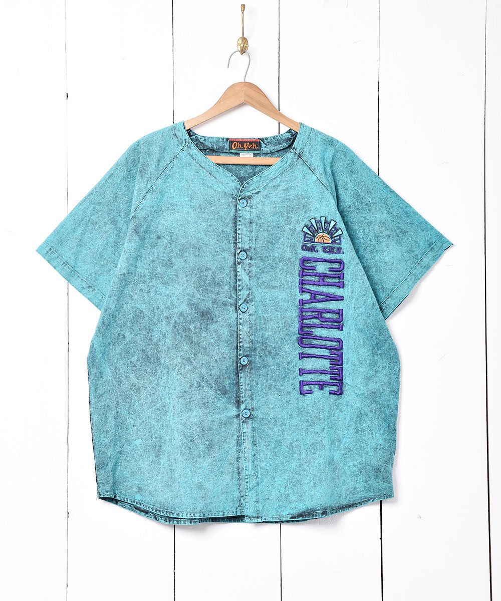 古着 バスケットボール 刺繍 半袖シャツ 古着 ネット 通販 古着屋グレープフルーツムーン