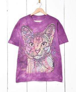 古着アニマル デザインプリントTシャツ 古着のネット通販 古着屋グレープフルーツムーン