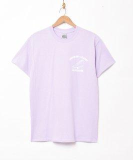 古着【2色展開】スニーカー プリントTシャツ パープル 古着のネット通販 古着屋グレープフルーツムーン