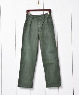 古着スウェーデン軍 ミリタリーパンツ C46 古着のネット通販 古着屋グレープフルーツムーン