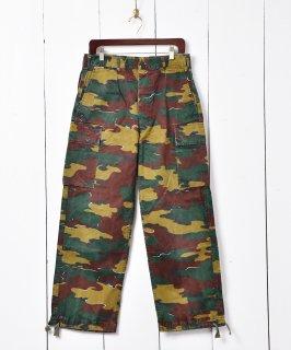 古着1995年製 ベルギー軍 ジグソーカモ フィールドパンツ W33 古着のネット通販 古着屋グレープフルーツムーン
