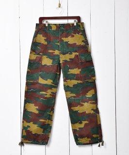 古着1993年製 ベルギー軍 ジグソーカモ フィールドパンツ W34 古着のネット通販 古着屋グレープフルーツムーン