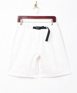 古着【5色展開】「Backers」バックル イージーショートパンツ ホワイト 古着のネット通販 古着屋グレープフルーツムーン