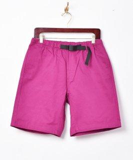 古着【5色展開】「Backers」バックル イージーショートパンツ パープル 古着のネット通販 古着屋グレープフルーツムーン