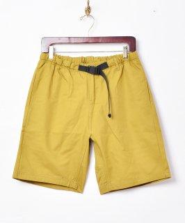 古着【5色展開】「Backers」バックル イージーショートパンツ マスタード 古着のネット通販 古着屋グレープフルーツムーン