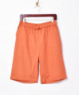 古着【4色展開】「TEMPTATION」綿麻ショートパンツ オレンジ 古着のネット通販 古着屋グレープフルーツムーン