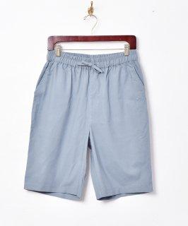 古着【4色展開】「TEMPTATION」綿麻ショートパンツ ブルー 古着のネット通販 古着屋グレープフルーツムーン
