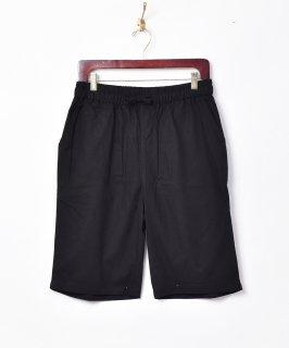 古着【4色展開】「TEMPTATION」綿麻ショートパンツ ブラック 古着のネット通販 古着屋グレープフルーツムーン