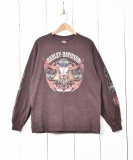 古着「Harley-Davidson」 両面プリントロンT 古着のネット通販 古着屋グレープフルーツムーン