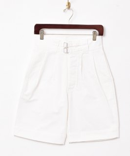 古着【2色展開】コットングルカショートパンツ ホワイト 古着のネット通販 古着屋グレープフルーツムーン