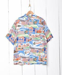 古着Florida Gators 半袖総柄シャツ 古着のネット通販 古着屋グレープフルーツムーン
