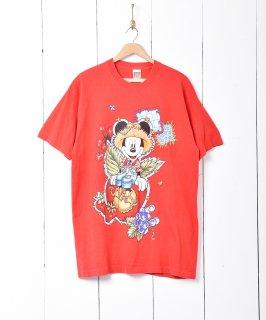 古着アメリカ製 90's ミッキープリントTシャツ 古着のネット通販 古着屋グレープフルーツムーン