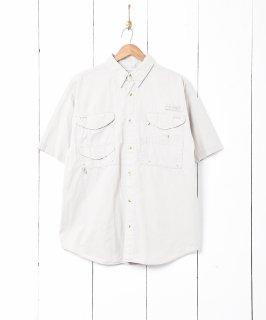 古着「Columbia」フィッシングシャツ 古着のネット通販 古着屋グレープフルーツムーン