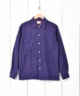 古着60's「TOWN CRAFT」 ウールシャツ 古着のネット通販 古着屋グレープフルーツムーン